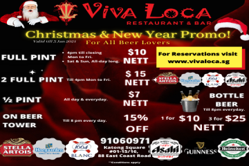 Festive Beer Promotion
