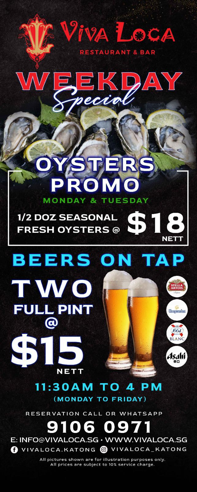 Oysters Promo